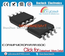 MAX406AESA+T IC OPAMP MICROPWR RR 8SOIC MAX406AESA 406 MAX406 MAX406A MAX406AE 406A