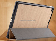 Brand New Brown Natural Premium Luxury Leather Stand Case For Ipad Air 5