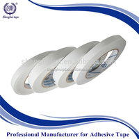 (WHITE release paper+hot melt&oily glue )strong adhesive double sided adhesive tape