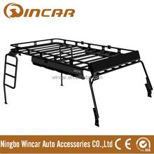 Wrangler Jk (08~14) 4 Doors Car Roof Rack Basket Cargo Top Luggage Carrier (W0728)