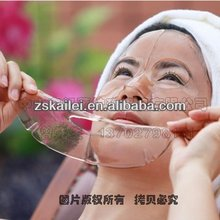 Red wine collagen facial mask pack