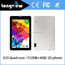 2015 Newest Model 7 Inch Quad Core Android 4.4 KitKat Phone Tablet PC Bluetooth front and rear Cameras