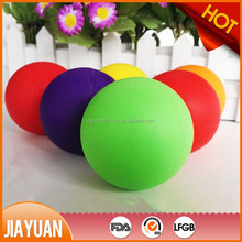 dog toy High flexible silicone rubber ball