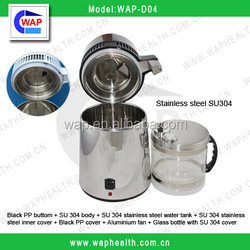 Trade Assurance WAP-health glass bottle cover SU304 stainless steel multi_effect distiller device