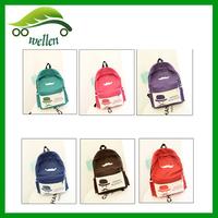 2015 new Korean version of the simple canvas shoulder bag