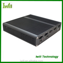 Iwill X4 pure aluminum mini itx ultra thin computer case