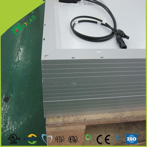 250 W poly meilleur prix solaire panneau solaire pv module solaire portable