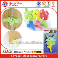 Baby furniture safety decorative rubber door stopper
