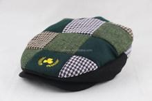 Wholesale Custom Newsboy Embroidery Logo Hat Ivy Cap