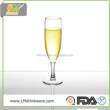 Customized size personalized goblet giant champagne glass