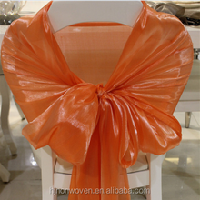 cheap satin organza sash for chairs and weddings