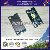 (TY-KMC4650t) toner cartridge reset chip for Konica Minolta magicolor C 4650EN 4650DN 4695MF C 4650 4695 A0DK181 A0DK182 bkcmy