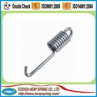 stainless steel double hook extension spring made in China