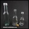 50ml 100ml 200ml cheap glass wine bottle with aluminium cap