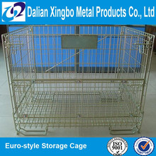 galvanized storage cage