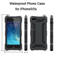Luxury Metal Aluminium Outdoor Phone Case for iPhone 5