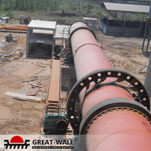 High Automation Level cement rotary kiln calcined bauxite hot in Uzbekistan