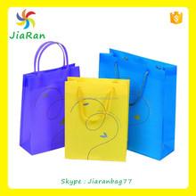 Gift Metallic PP non woven decorative reusable shopping bag
