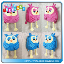 2015 Cute Cartoon Animal plush toys School Bag for Kids