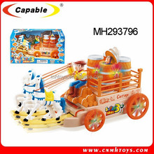 Toys Carriage,B/O Cartoon Carriage with light and music