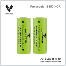 Vapor Tech High Drain Panasonic 18650 Batteries 3400mah for Mechanical Mod 18650 Mod