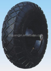 Durable pneumatic wheels,16 inches 4.00-8 tyre pneumatic China wheels
