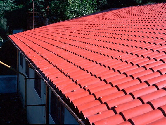 Composite shingles pvc plastic roof shingles for Composite roofing tiles
