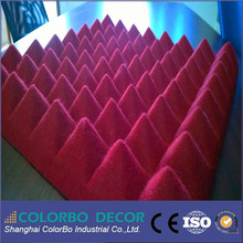 sound absorption 3D PET decoration acoustic wall panel