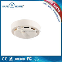 Ionization addressable sms wireless smoke detector system with 9v battery