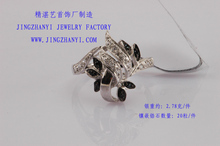 American Style Value 925 Silver Ring With china CZ Diamond