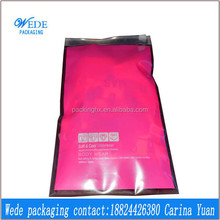 high quality zipper ziplock top plastic underwear bags
