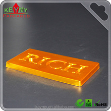 Cool design Gold colour Cheap New Style Plastic Chocolate Gift Tray