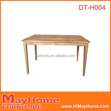 47inch oak finger joint top dinning table