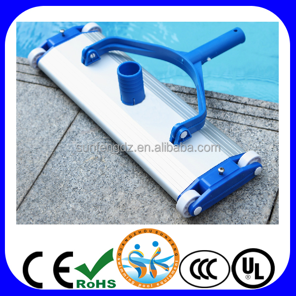Swimming Pool Supplies Product : Swimming pool cleaning equipment aluminum vacuum head