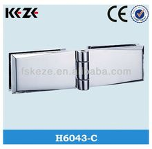 decorated glass water proof hinge