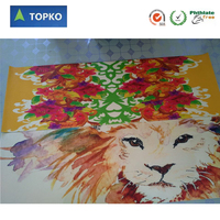 Big size eco custom full printing TOPKO PVC yoga mat