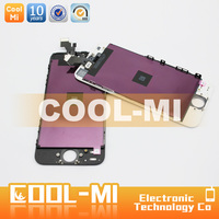 mobile phone parts lcd touch screens for apple iphone 5 digitizer replacement