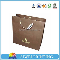 Eco-friendly hot sale high quality glossy gift bags/gifts carry bag