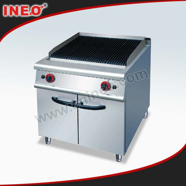 Industrial Electric Grill ~ Commercial restaurant kitchen electric lava rock grill hot