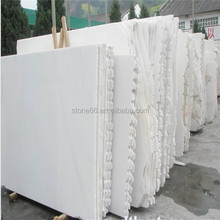 Excellent quality top sell stone snow white marbles