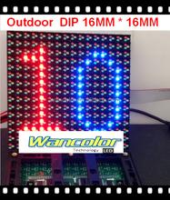 7800CD reverse polarity Outdoor high brightness P10 Full Color LED video Module 160mm*160mm Epistar LED Chip
