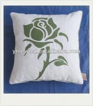 new fashion handmade rose shape cushion for sale