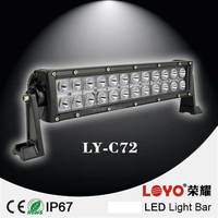Guangzhou auto accessories cheap led light bars in China atvs 72w led light bar
