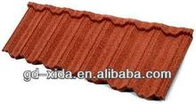 China metal roofing install tile roof
