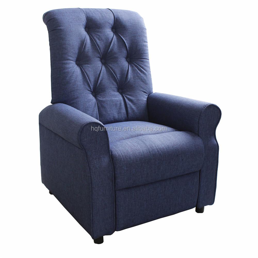Modern Leisure Sofa Upholstered Recliner Chair
