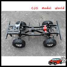 Cheap price 1:10 4WD Aluminum rc car chassis for sale from China
