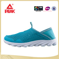 Peak Summer New Female Breathable and Comfortable Sports Leisure Light Running Shoes
