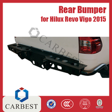 High Quality Hilux Rear Steel Bumper Guard for Toyota Revo 2015 Vigo