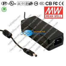 GS60A18-P1J 60W 18V 3.3A high efficiency Mean well power adapter (3 plug)