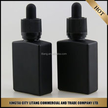 60ml 30ml 15g 30g 50g 100g black colored glass lotion bottle and jar , with aluminum cap and pump .